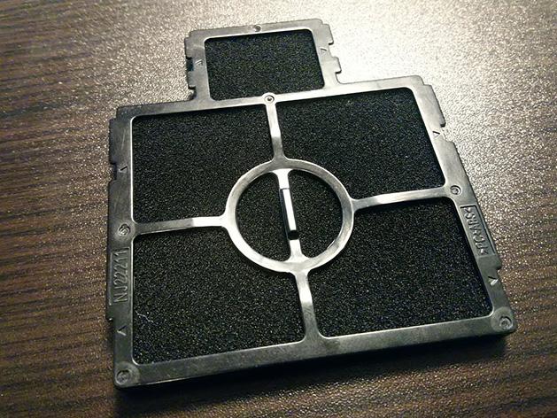 Rozteklý objektiv - selhání chladicí soustavy z důvodu znečištěných filtrů